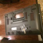 Panasonic Plasma TV TH-PZ800U Faced Down