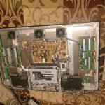 Panasonic Plasma TV TH-PZ800U Faced Down Back Panel Off