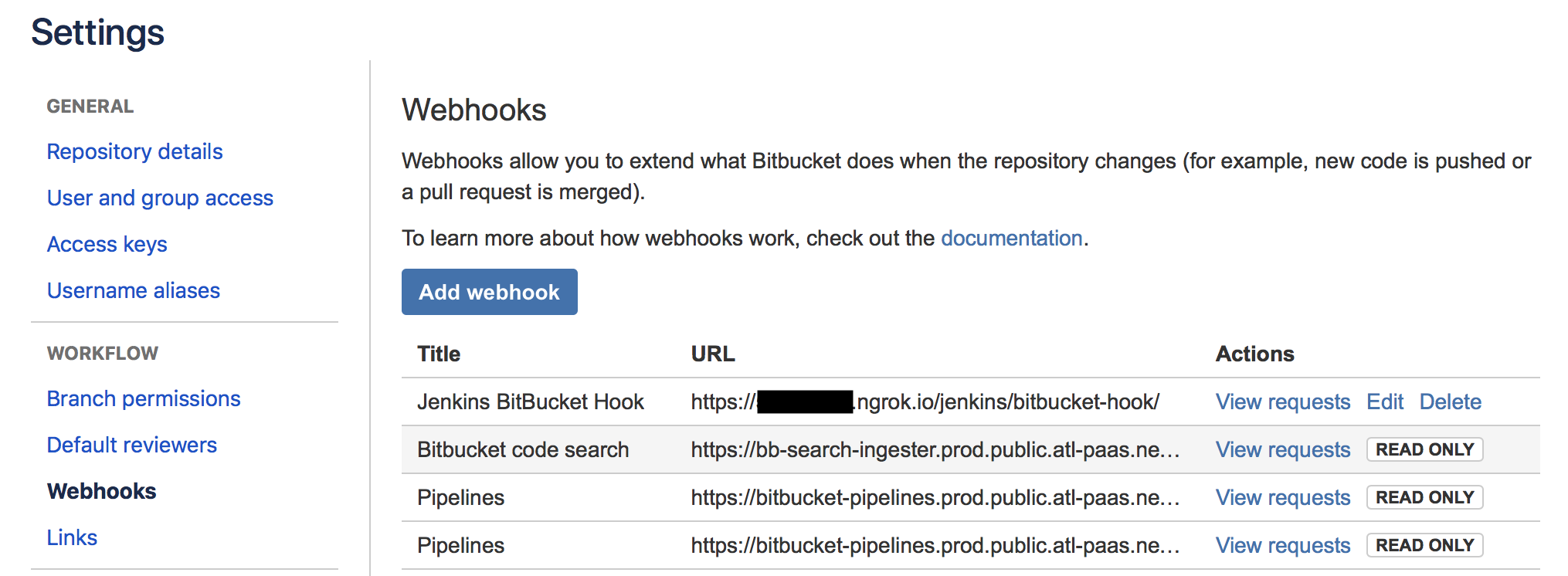 How to Point BitBucket Webhook to Jenkins on Localhost