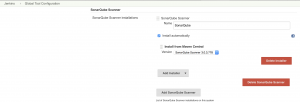 Configure SonarQube Scanner in Jenkins Global Tool Configuration